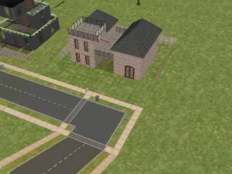 Die sims 2 h user bauen youtube for Sims 4 dach bauen