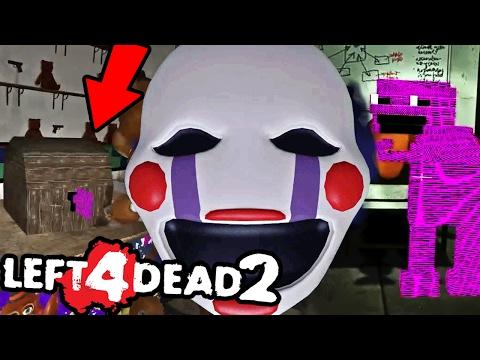 BURNING DOWN PURPLE MANS SECRET OFFICE || Left 4 Dead 2 FNAF 2 w/Dawko (Five Nights at Freddys)