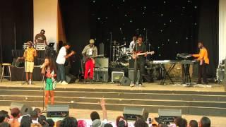 "Dela performing ""Weche Tek""@ Blankets and Wine 44, June 2nd 2013, Nairobi,Kenya"