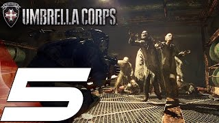 Resident Evil Umbrella Corps - Multiplayer Online Gameplay Part 5 - Search & Destroy