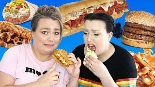 Bouffe Louche : Le pire du fast-food québécois 🍔🌯🍩 |  2FILLESORDINAIRES