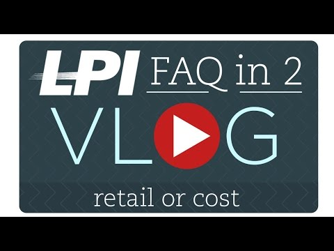 LP FAQ in 2 -Shrink Calculation - Retail or Cost - YouTube