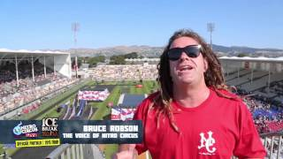 Ice Break Nitro Circus 2nd Best Seats in the House #1