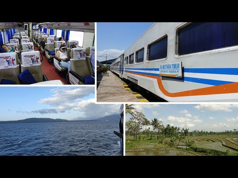 Surabaya To Bali By Train & Ferry