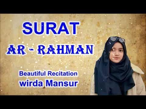 Download Lagu Indah Banget,, Suara WIRDA DUTA AL-QURAN NGAJI... AR RAHMAN