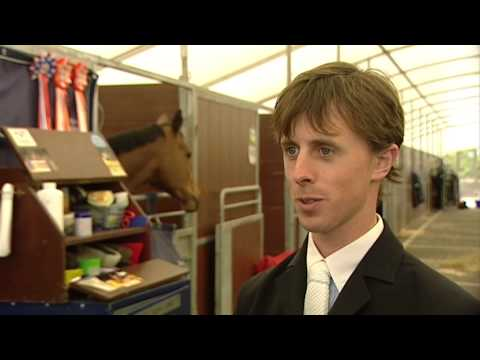 Showjumping - Behind the Scenes with Ben Maher -November 2010