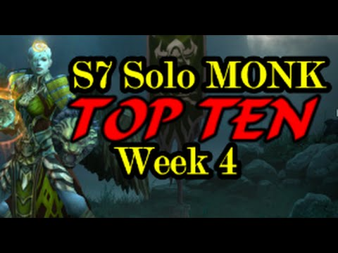 Diablo  Top Monk Build Season