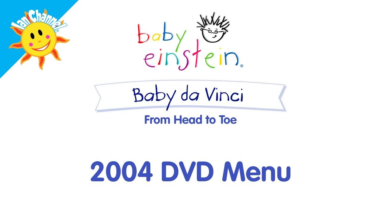 Baby Einstein: Baby da Vinci 2004 DVD Menu | English ...