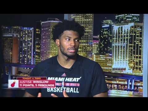 Justise Winslow -- Miami Heat vs. Philadelphia 76ers 11/21/2015