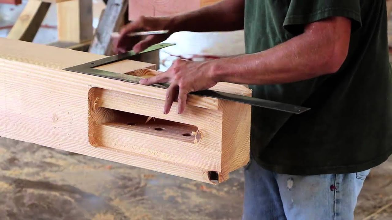 Texas Timber Frames Process - YouTube