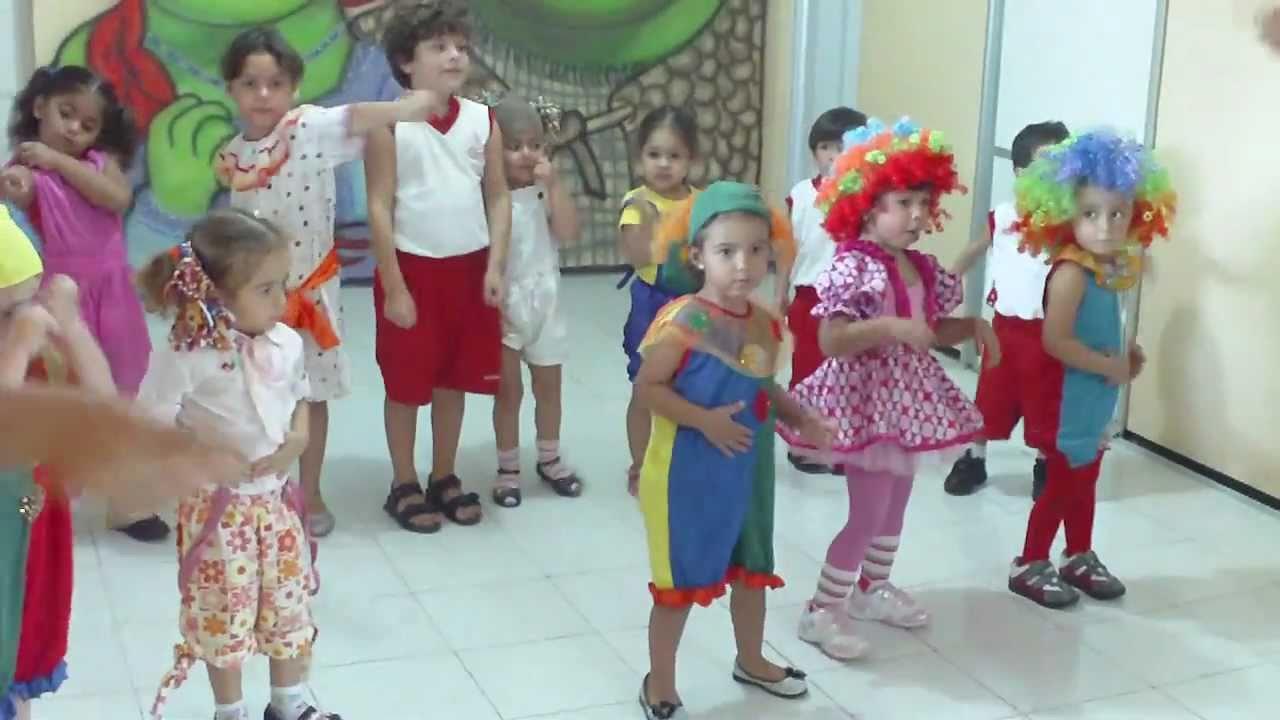 Suficiente Creche Escola Enviados por Deus - Apresentação do Circo - Infantil  CZ78
