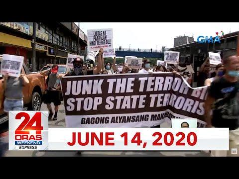 24 Oras Weekend Express: June 14, 2020 [HD]