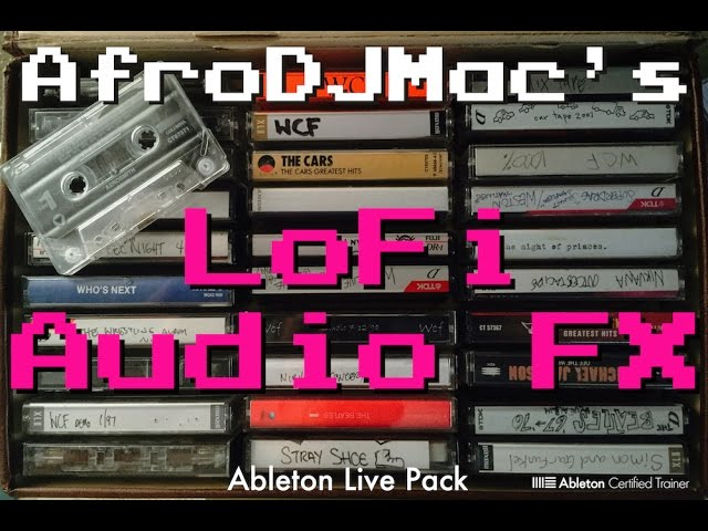 Lofi Audio Effects for Ableton Live — Brian Funk