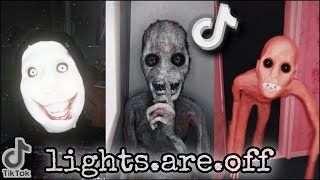 Lights.Are.Off Scariest Compilation Of TikTok P.2 #lightsareoff #scary #nightmares Thumb