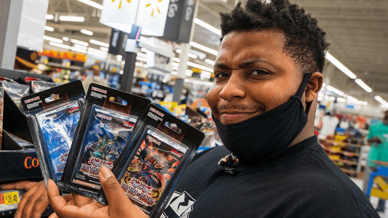 Buying $40 of Yu-Gi-Oh Cards at Walmart!