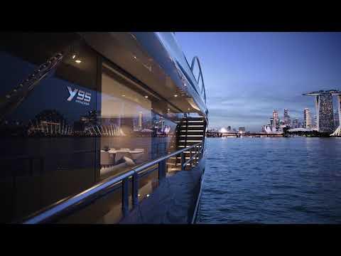 Princess Yachts Y95 Animation