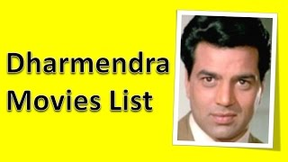 Dharmendra Movies List