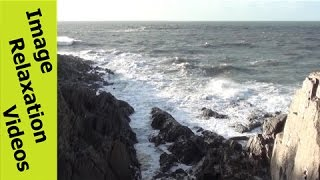 Ocean Waves, Rocky Groove, Sunshine, Shadow + Ocean Quotes & Nature Sounds Ambient Background