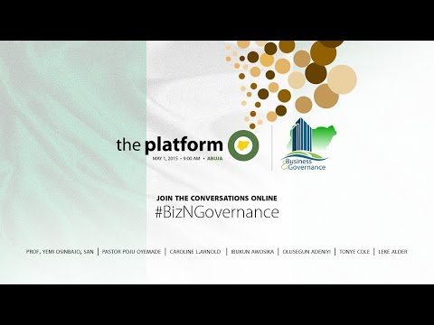 The Platform Nigeria, Abuja - May 1, 2015
