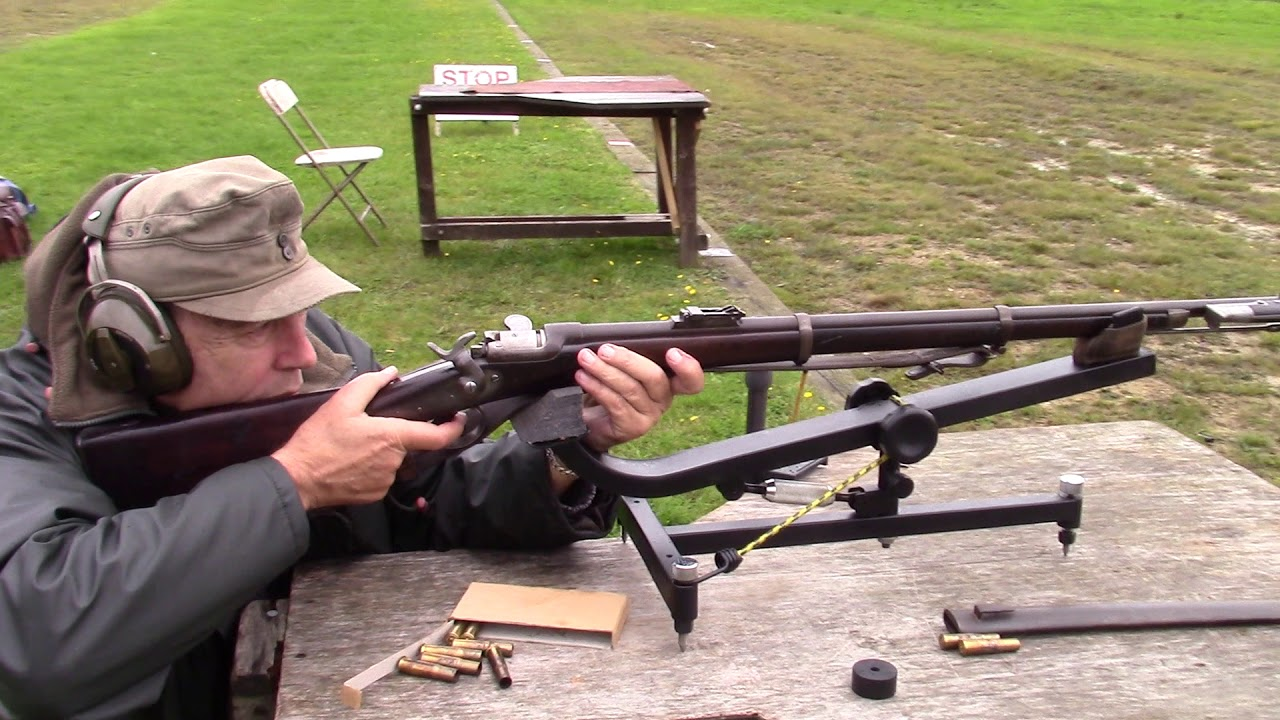 Shooting Austrian Werndl M186777 With Fixed Bayonet Youtube