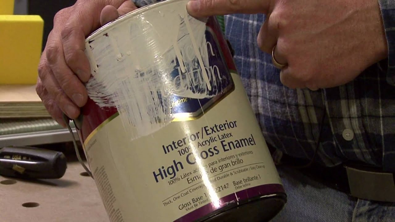 High Gloss Latex Paint