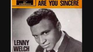 """Since I Fell for You"" Lenny Welch"