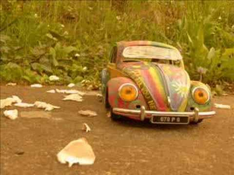 vw beetle hippy