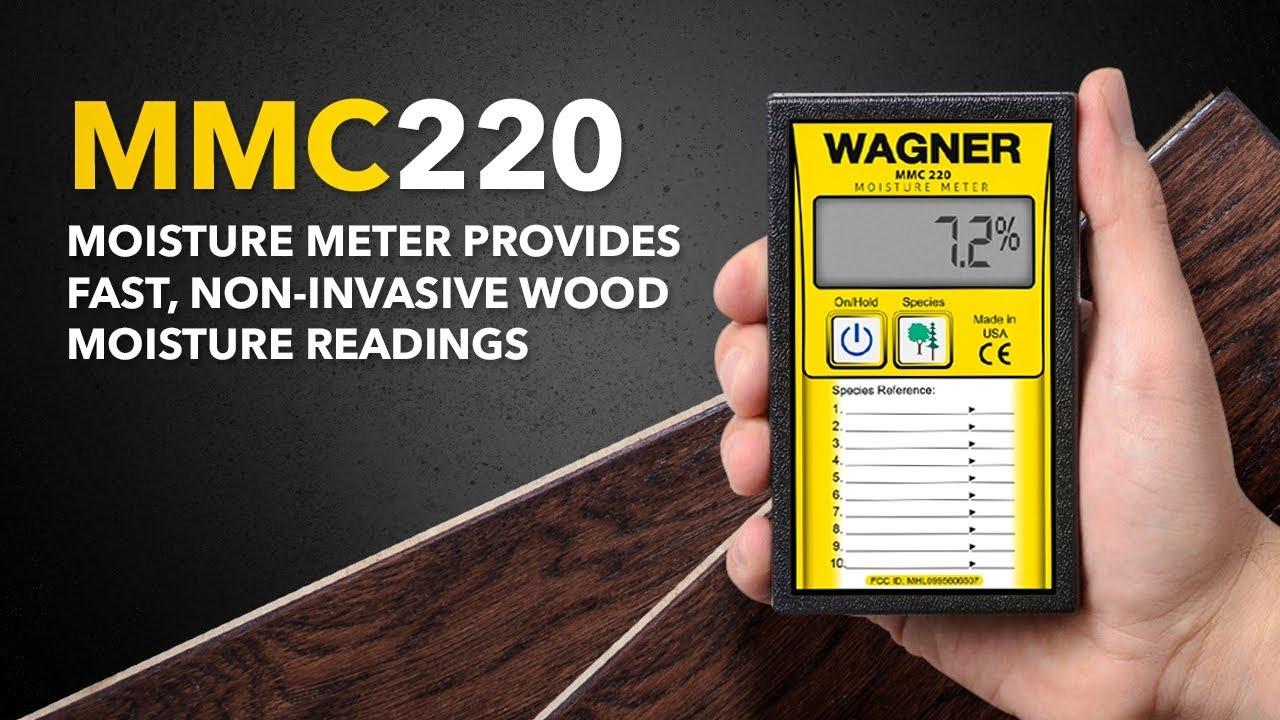 Mmc220 Moisture Meter Provides Fast