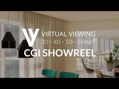 Virtual Viewing CGI Showreel 2018