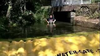 barrage deci rivière watergate sdis herault