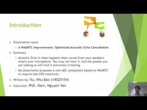 46 NhuBaoVu A WebRTC Improvement Optimized Acoustic Echo