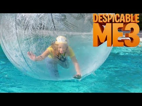 Despicable Me 3 Toy Pool Ball Challenge Toy Review