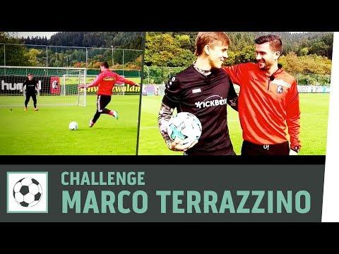 Tor-zu-Tor Challenge vs. Marco Terrazzino | SC Freiburg| Fußball-Challenge | Kickbox