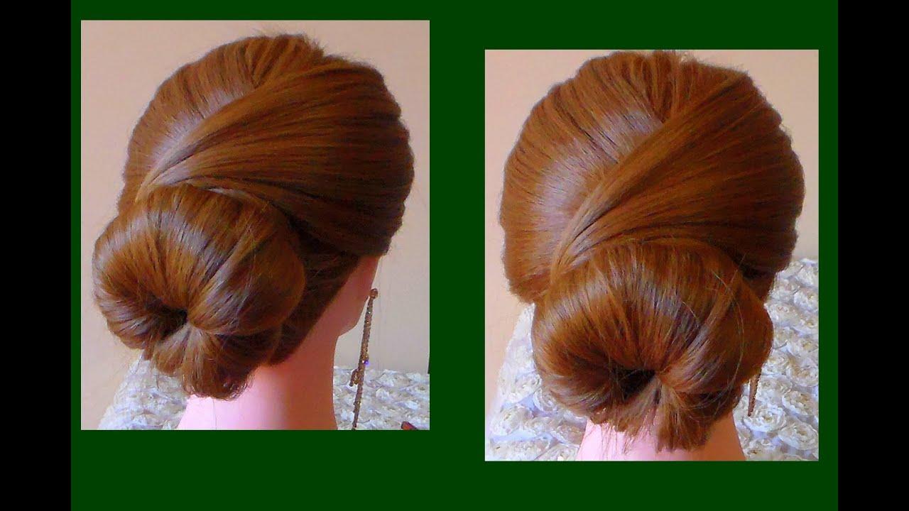 Préférence TUTORIAL:Hairstyle long hair/Acconciatura fai da te semplice e  ZQ14