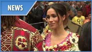Meghan Markle makes powerful first speech in Fiji
