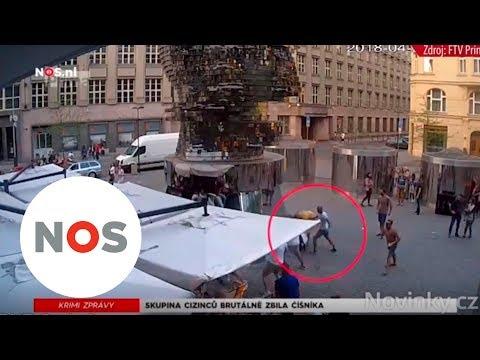 MISHANDELING: Nederlanders in Praag slaan ober het ziekenhuis in