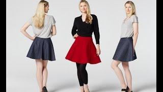 How To Make A Skater Skirt Teach Me Fashion