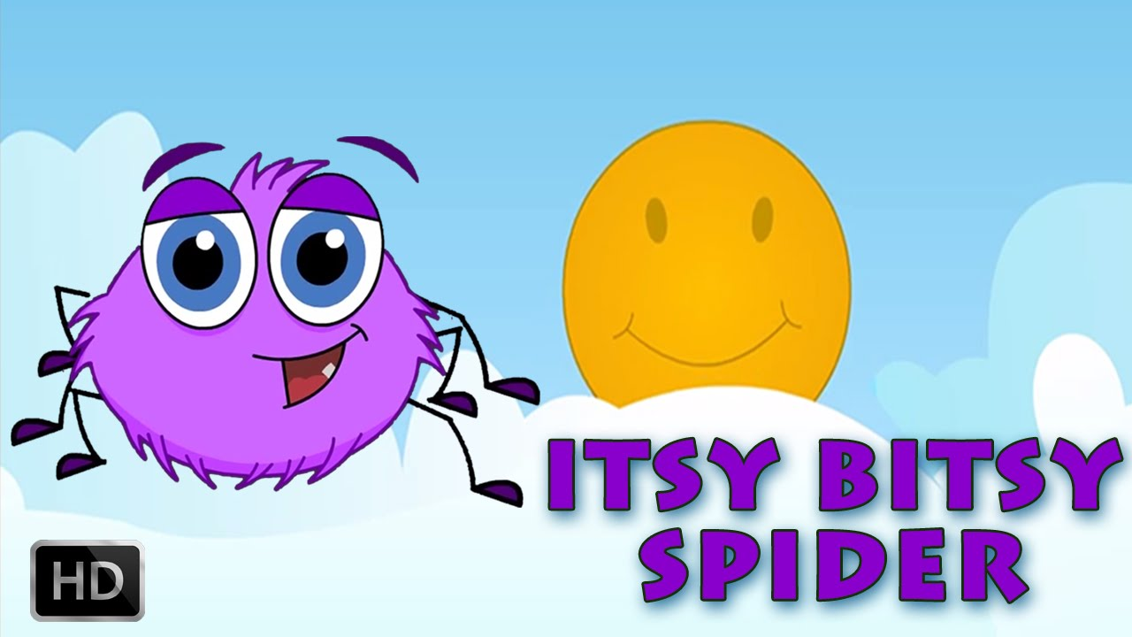 Incy Wincy Spider Climbed Up The Water Spout