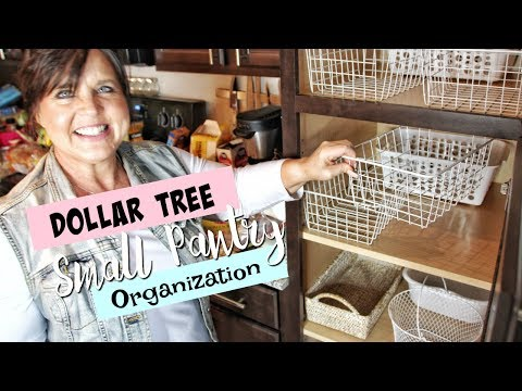 Woman Organizes a Tiny Pantry With Dollar Tree Finds, and It's a Sight to Behold
