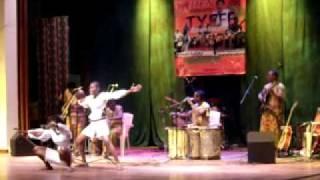 Tanzanian Dance Permance by TOTOROBO. At Tanzanian Youth Exchange Forum & Festival.