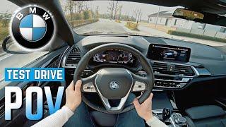 BMW iX3 POV Test Drive