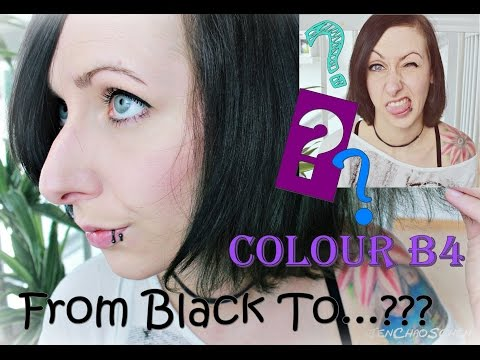 Colour B4 Extra Haarfarben Entferner From Black To Whatever