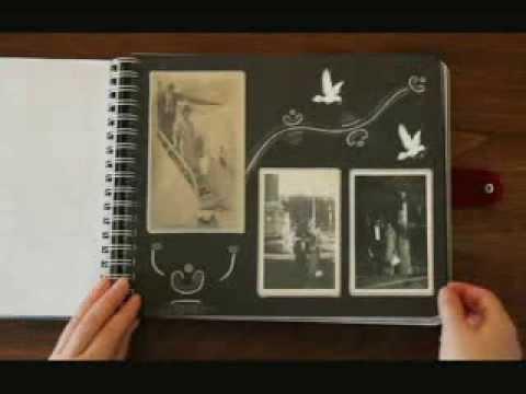 Album decorado a mano recuerdo abuelos ferino y carmina - Decoracion de album de fotos ...
