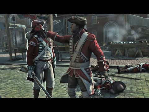 Assassin's Creed 3 Redcoat Outfit Boston Counter Kills/Finnishing Moves Ultra GTX 960