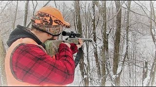 Ohio Muzzleloader Deer Hunting 2018 - Snow Doe