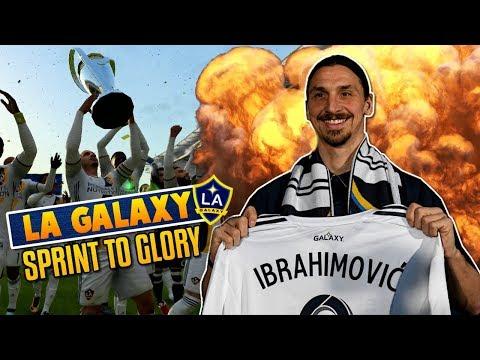 FIFA 18: IBRAHIMOVIC WIRD ZUR LEGENDE IN LOS ANGELES!!🔥🔥 LA GALAXY SPRINT TO GLORY