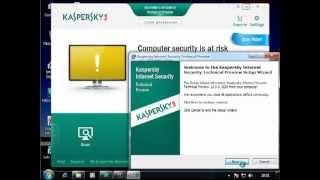How to Uninstall Kaspersky Internet Security 2013