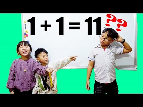 Hunter Kids Go To School Learn Colors Math Number One | Classroom Funny Nursery Rhymes