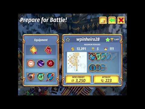 Royal Revolt 2: Base Review -- Wpinheiro28 (3620 Trophies)
