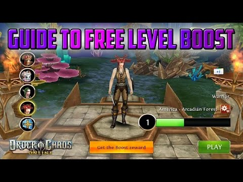 Guide To Your Free Level Boost | Order & Chaos